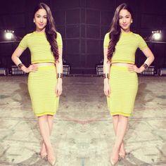 @Julia Barretto Filipina Actress, Star Magic, Girly Girl, Photos, Two Piece Skirt Set, Hollywood, Actresses, Formal, Celebrities