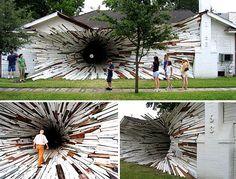 Tunnel House Art Installation