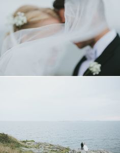 A beautiful Suomenlinna wedding: Marjaana & Jani | Real Finnish wedding on Best Day Ever