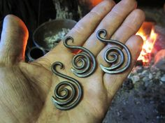 Hand forged The Swan of Tuonela pendant. Comes by FrostFerrumForge