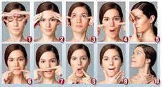 10+ упражнений от Кэрол Маджио, которые помогут подтянуть лицо без пластики