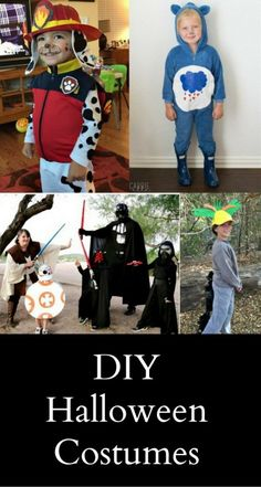 5 DIY Halloween Costume Ideas of Your Kidsu0027 Favourite Characters  sc 1 st  Pinterest & 206 best DIY Halloween Costumes images on Pinterest | Holidays ...