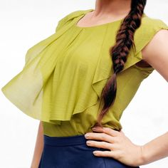 KiRiVOO NISU Organic Silk Blouse