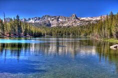 Lake Mary near Mammoth Lakes, CA. I will miss you Grandpa all the days of my life.
