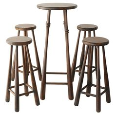 Unique Baseball Bat Bar Stools