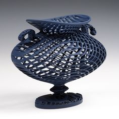 concepts, forms, materials, techniques, and processes related to basketry Ceramic Pottery, Ceramic Art, Zen Pictures, The Potter's Wheel, Vase, Contemporary Ceramics, Sculpture Art, Ceramic Sculptures, Abstract Print