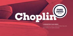 Check out the Choplin font at Fontspring. Choplin is a modern and clear geometric slab serif with a sturdy heart. Typography Love, Typography Inspiration, Lettering, Cool Fonts, New Fonts, Font Finder, Font Maker, Free Fonts For Designers, Slab Serif Fonts