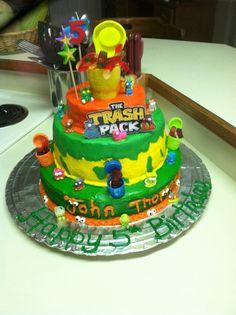 trash pack birthday cake