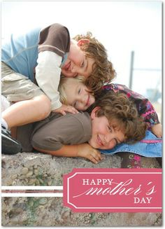 Simple Memory - Mother's Day Greeting Cards - Jill Smith - Lipstick - Pink : Front