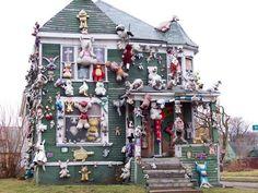 Crazy house!