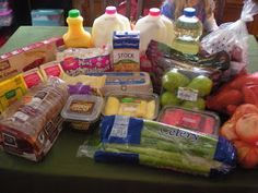 How to live on $50/wk for food for 4 people. Meal plans too! Pretty cool!