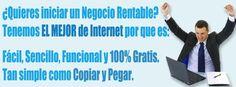 No pierdas más tiempo y comienza a ganar dinero ahora con el sistema que está revolucionando Internet... Regístrate gratis desde el siguiente enlace: http://gananciaz.com/ganardinero/juanfer7219