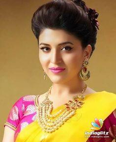 Beautiful Girl Image, Most Beautiful, Beautiful Images, Beautiful Women, Beautiful Saree, Beautiful Indian Actress, Cool Face, Hair Setting, Saree Look