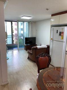 공간마다 특색 있는 복도식 아파트 작은집 꾸미기 : 25평 거실 인테리어 : 네이버 블로그