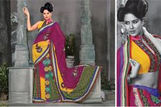 Avail from us a stylish range of designer sarees, which are creatively crafted by one of the expert hands of industry. Made from finest quality silk and other fabrics, these designer sarees are very comfortable to wear and are very appealing in look. One can avail these designer sarees in eye-catchy patterns and energetic color combinations. Designed with utmost care, these designer sarees are apt to be worn in various special occasions.