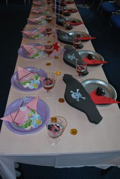 Princess & Pirates Party Decoration Ideas