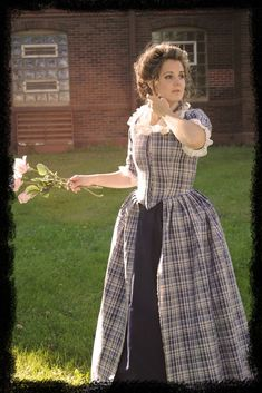 CUSTOM Colonial 18th Century Rococo Dress Gown by MattiOnline, $325.00