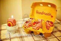 Come realizzare candele pasquali con le uova on http://cosefatteincasa.it