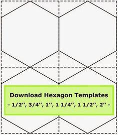 Tips for cutting hexagon templates /Geta's Quilting Studio