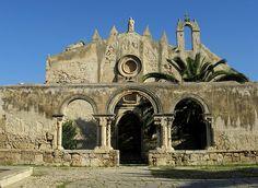 Rovine della vecchia chiesa di S. Giovanni una volta cattedrale di Siracusa