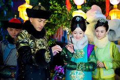 Zhang Meng as Harjol & Hawick Lau as Hong Taiji - In Love With Power 《山河戀·美人無淚》