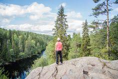 Helvetinjärvi National Park.