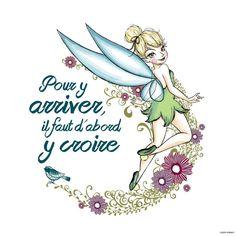 Illustration de la page FB : La Fée  Clochette