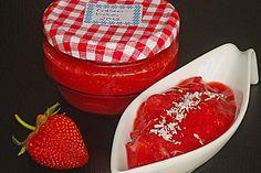 Erdbeermarmelade mit Kokosmilch, ein beliebtes Rezept aus der Kategorie Haltbarmachen. Bewertungen: 74. Durchschnitt: Ø 4,3.