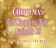 Christmas Gift Bag Assorted Colors Unless by winecharmersandmore