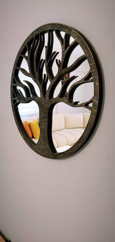 WoodMirror Hayat Ağacı Wood Mirror, Inspiration, Furniture, Home Decor, Biblical Inspiration, Decoration Home, Room Decor, Home Furnishings, Home Interior Design
