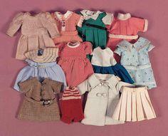 A Cherished Collection - Madame Andrée Petyt: 617 Twelve Bleuette or Bleuette-Genre Costumes