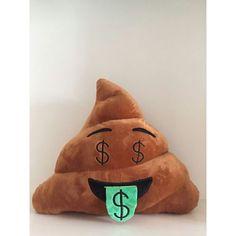 Home Emoji Poop Throw Pillows Expression Cushion Stuffed Doll Plush Toys Gifts Money Emoji, Poop Pillow, Doll Toys, Dolls, Unicorn Rooms, Kawaii Diy, Stress Toys, 1 Piece, Soft Fabrics