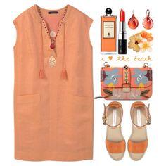 Pastel Orange by grozdana-v