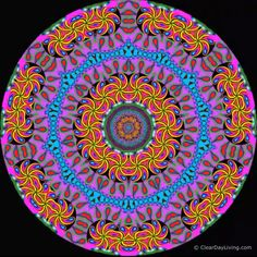 Colorful Animated Kaleidoscope Mandalas - Click the link above to view the full video version with white noise. Please share this pin with y - Illusion Kunst, Illusion Art, Cavalo Wallpaper, Quotes Pink, Mandala Drawing, Animation, Flower Mandala, Psychedelic Art, Mandala Design