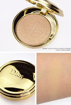 Dior State of Gold Christmas Look