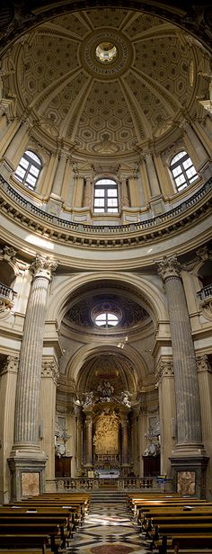 Basilica di Superga (indoor) - Turin Piemonte Italy http://www.monarch.co.uk/italy/turin/flights