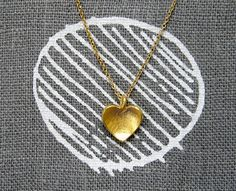 Tiny Heart Necklace by Verse