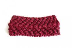 Arrowhead Knitted Headband - 0-6 Months