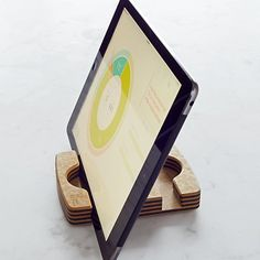 The Orange Chef Co. iPad® Stand #williamssonoma - really use one of these stands in the kitchen