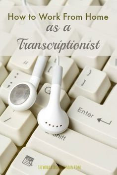 Transcription is one of the MOST available work from home jobs whereby women are converting their skills into dollars. Here is everything you need to know about this work at home job! via The Work at Home Woman
