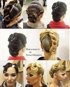 Ballroom hair & makeup