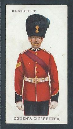 OGDENS SOLDIERS OF THE KING NO 47 SERGEANT ROYAL DUBLIN FUSILIERS in Collectables, Cigarette/ Tea/ Gum Cards, Cigarette Cards | eBay