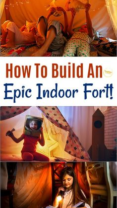 Fort Building Kit, Build A Fort, Indoor Forts, Indoor Play, Summer Activities For Kids, Indoor Activities, Family Activities, Children Activities, Cool Forts