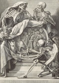 Anonymous (Italian, 18thcentury), Memento mori ('INGREDIMVR CVNVTI, DIVES CVM PAVPERE MIXTVS'), c. 1750. Etching with engraving. Estimate $600-800. This work is offered in Death and Desire — The Collection of Giancarlo Beltrame, 25 October–3 November 2016, Online