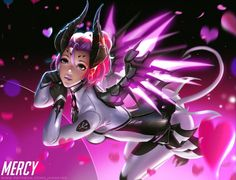 Mecry IMP by Liang-Xing.deviantart.com on @DeviantArt - More at https://pinterest.com/supergirlsart #mercy #overwatch #fanart