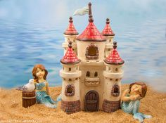 Castle Fairy House at the enchanted fairy beach.