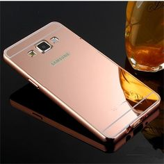 Para Samsung Galaxy gran Prime Case lujo de Metal de aluminio + acrílico dura del teléfono contraportada Fundas bolsa accesorios Capa g530