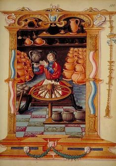 French Potter, 1500.