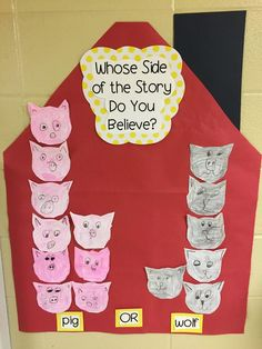 Lee's Kindergarten: A long post about Fairy Tales with LOTS of pictures! Kindergarten Literacy, Literacy Activities, 3 Little Pigs Activities, Fairy Tale Activities, Fairy Tales Unit, Fairy Tale Theme, Fairy Tale Crafts, Traditional Tales, Traditional Stories