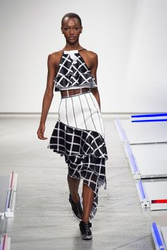 Highlighting black models -Rodarte Spring 2014